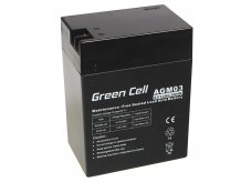 Baterie AGM Green Cell 6V 14Ah
