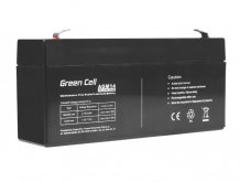 Batéria AGM Green Cell 6V 3,3Ah 134×34×60mm 0,64kg