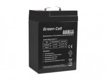 Batéria AGM Green Cell 6V 4Ah 70×47×106mm 0,68kg