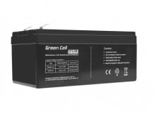 Batéria AGM Green Cell 12V 3,3Ah 134×61×67mm 1,3kg