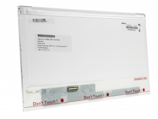 "LCD displej Innolux N156BGE-L31 15,6"" 1366x768HD LVDS 40 pin - MAT02-0: MAT02-0-14"